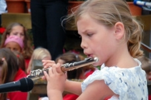Young Girl Clarinet